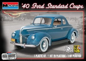 MON85-4371 - Monogram 1/25 1940 Ford Standard Coupe