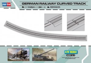HBB82910 - Hobbyboss 1/72 German Railway Curved Track