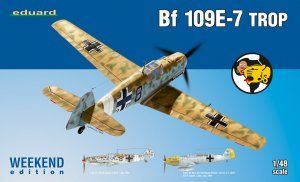 EDU84167 - Eduard Models 1/48 Bf 109E-7 Trop [Weekend Edition]
