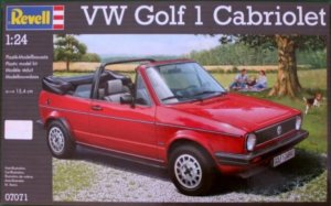REV07071 - Revell 1/24 VW Golf 1 Cabriolet