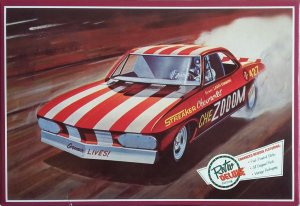 AMT873 - AMT 1/25 CHEZOOOM CORVAIR FUNNY CAR