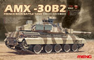 MENTS013 - Meng 1/35 AMX-30B2 FRENCH MBT