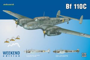 EDU7426 - Eduard Models 1/72 BF 110 C WEEKEND EDITION
