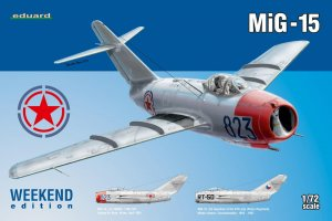 EDU7423 - Eduard Models 1/72 MiG-15 [Weekend Edition]