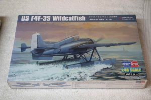 HBB81729 - Hobbyboss 1/48 US F4F-3S Wildcatfish