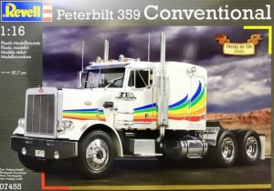 "REV07455 - Revell 1/16 Peterbilt 359 Conventional ""Truck of the 1980s"""