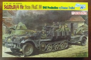 DRA6711 - Dragon 1/35 Sd.Kfz.10/4 fur 2cm FlaK 30 - 1940 Production w/Ammo Trailer - Smart Kit - '39-'45 Series
