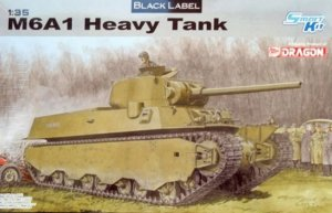 DRA6789 - Dragon 1/35 M6A1 Heavy Tank - Smart Kit - Black Label