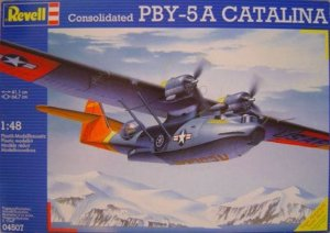 REV04507 - Revell 1/48 Consolidated PBY-5A Catalina