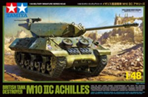 TAM32582 - Tamiya 1/48 M10 IIC ACHILLES BRITISH TANK DESTROYER
