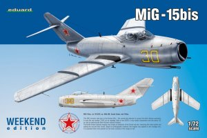 EDU7424 - Eduard Models 1/72 MiG-15bis [Weekend Edition]