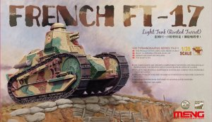 MENTS011 - Meng 1/35 FT-17 (RIVETED TURRET)