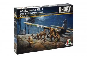 ITA1356 - Italeri 1/72 AS.51 Horsa Mk.I with British Paratroops