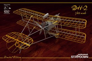 EDU1185 - Eduard Models 1/48 DH-2 'STRIPDOWN' LTD. ED.