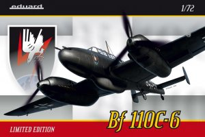 EDU2115 - Eduard Models 1/72 BF 110C-6 LTD.EDITION