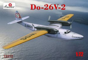 AMO72272 - Amodel 1/72 Do-26 V-2 Flying Boat