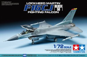 TAM60786 - Tamiya 1/72 F-16CJ-50 FIGHTING FALCON