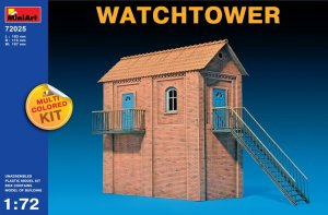 MIA72025 - Miniart 1/72 Watchtower - Multi-Colored Kit