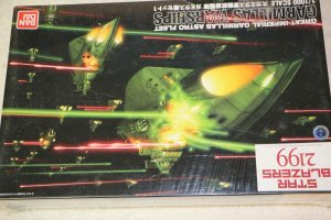 BAN0180760 - Bandai 1/1000 Garmillas Warships Set #1 Starblazers 2199
