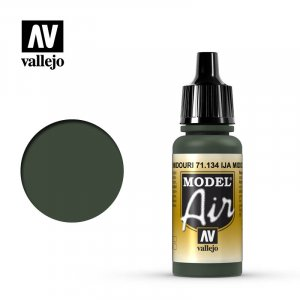 VLJ71134 - Vallejo Type - Model Air: IJA Midouri Green - 17mL Bottle - Acrylic / Water Based