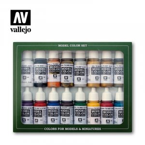 VLJ70143 - Vallejo Type - Figure Sets: Roman Empire (16 pieces) - Acrylic / Water Based