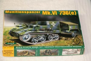 ACE72520 - ACE 1/72 Munitionspanzer Mk.VI 736(e)