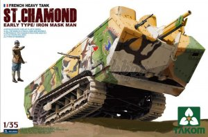 TKM2002 - Takom 1/35 FRENCH HEAVY TANK ST. CHAMOND EARLY