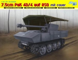 DRA6679 - Dragon 1/35 7.5cm PaK 40/4 auf RSO mit Cover - Smart Kit - '39-'45 Series