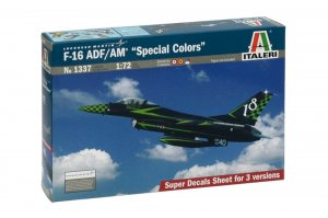 "ITA1337 - Italeri 1/72 F-16 ADF/AM ""Special Colors"""