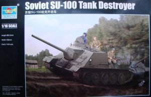 TRP00915 - Trumpeter 1/16 SOVIET SU-100 TANK DESTROYER