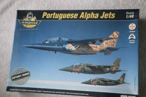 WNG48006 - Wingman Models 1/48 Portuguese Alpha Jets (Kinetic kit w/ extra parts)