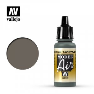 VLJ71096 - Vallejo Type - Model Air: Panzer Olive - 17mL Bottle - Acrylic / Water Based