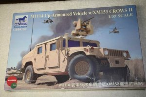 BRO35136 - Bronco 1/35 M1115  Up-Armoured Vehicle w/ XM153 CROWS II