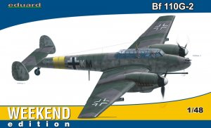 EDU84140 - Eduard Models 1/48 BF 110G-2 WEEKEND EDITION
