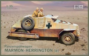 IBG35024 - IBG 1/35 MARMOM HERRINGTON (E) CAPTURED ARMOURED CAR