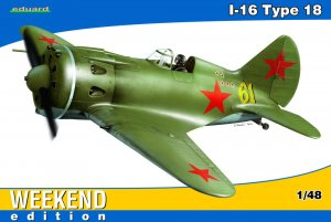 EDU8465 - Eduard Models 1/48 I-16 TYPE 18 WEEKEND