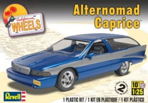 REV85-4049 - Revell 1/25 Alternomad Caprice - California Wheels Series