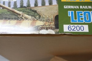 DRA6200 - Dragon 1/35 Leopold German Railway Gun 28cm K5(E)