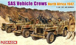 DRA6682 - Dragon 1/35 SAS Vehicle Crews - North Africa 1942 - '39-'45 Series