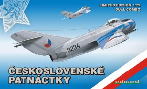 EDU2113 - Eduard Models 1/72 MIG-15 IN CZECH SER. DUAL COMBO NEW TOOL LIMITED PROD