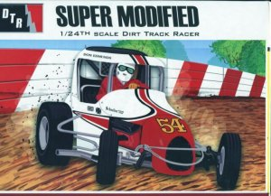 AMT4185 - AMT 1/24 SUPER MODIFIED #54 DON EDMUNDS LIMITED RELEASE BY MODEL KING