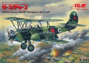 ICM72242 - ICM 1/72 U-2/Po-2 - WW II Soviet Multi-Purpose Aircraft