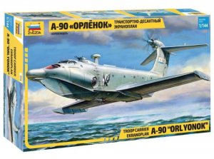 "ZVE7016 - Zvezda 1/144 Troop Carrier Ekranoplan A-90 ""Orlyonok"""
