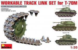 MIA35146 - Miniart 1/35 Workable Track Link Set for T-70M