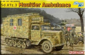 DRA6766 - Dragon 1/35 Sd.Kfz.3 Maultier Ambulance - Smart Kit - '39-'45 Series
