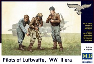 MBLMB3202 - Master Box 1/32 Pilots of Luftwaffe - World War II Era Series