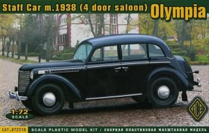 ACE72518 - ACE 1/72 Olympia Staff Car Model 1938 ( 4 Door Saloon )