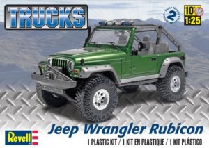 REV85-4053 - Revell 1/25 Jeep Wrangler Rubicon - Trucks Series