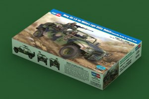 HBB82469 - Hobbyboss 1/35 Meng Shi 1.5 ton Military Light Utility Vechile - Convertible Version for Special Forces