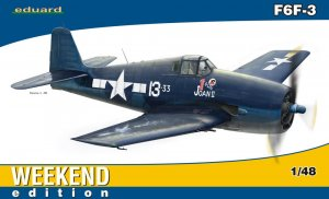 EDU84135 - Eduard Models 1/48 F6F-3 [Weekend Edition]